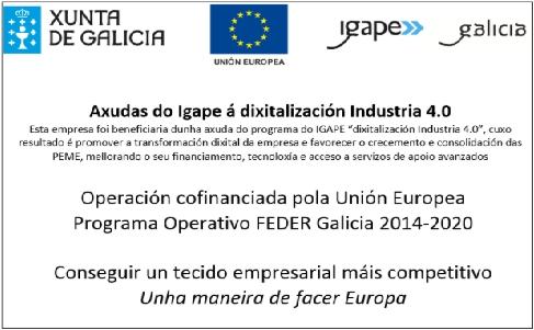 Axuda do Igape á dixitalización Industria 4.0